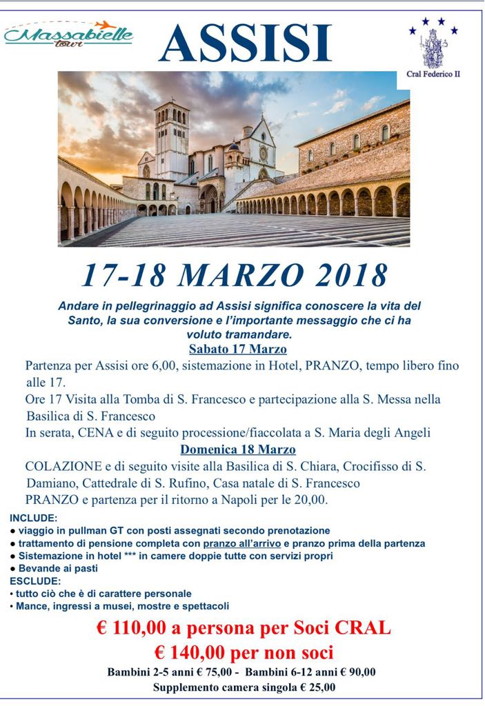 Assisi 17-18 Marzo