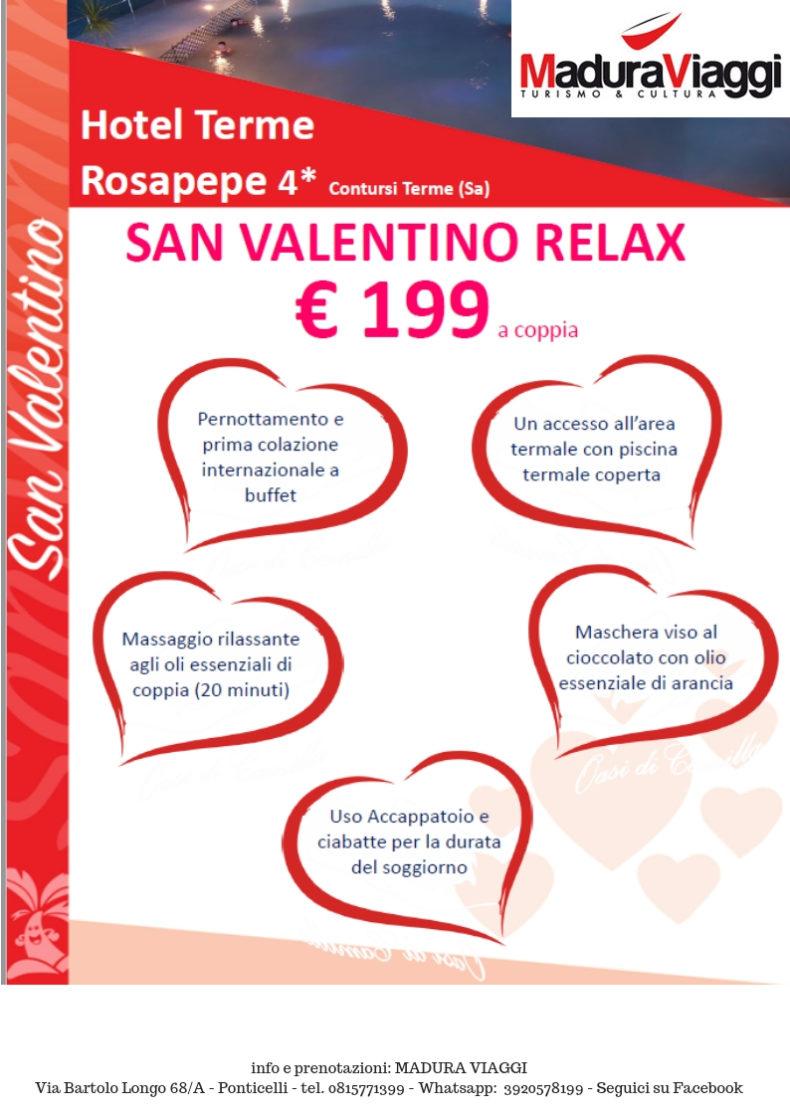 Offerte San Valentino Cral Ansaldo Trasporti Napoli