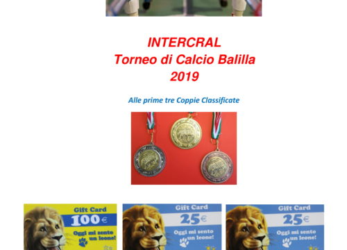 Tornei INTERCRAL
