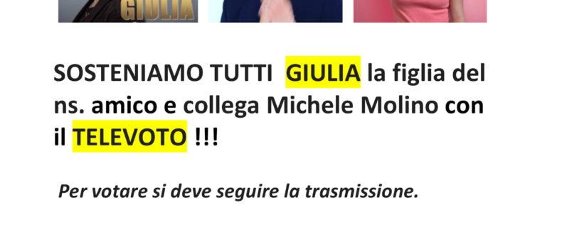 Sosteniamo Giulia con il Televoto
